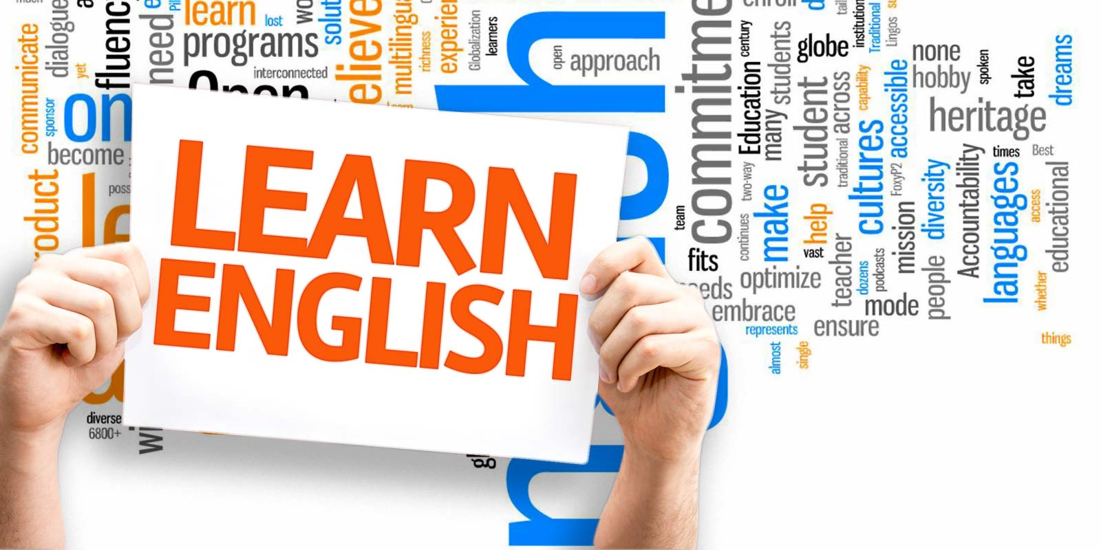 Learn English graphic