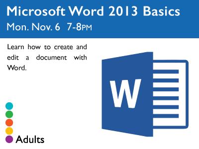 Word 2013 Basics