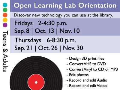 Open Learning Lab Orientation