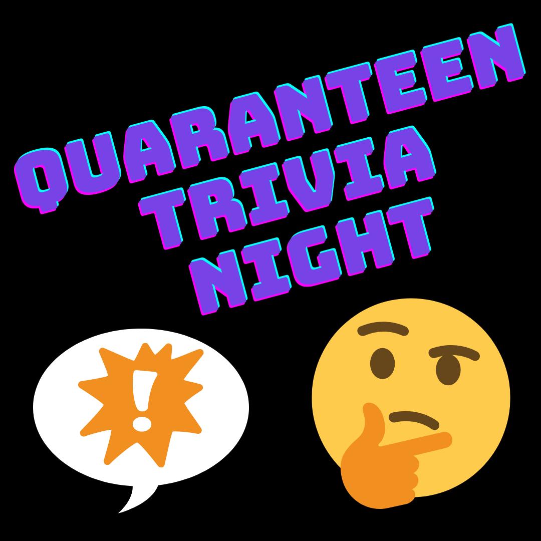 Quaranteen Trivia Night logo