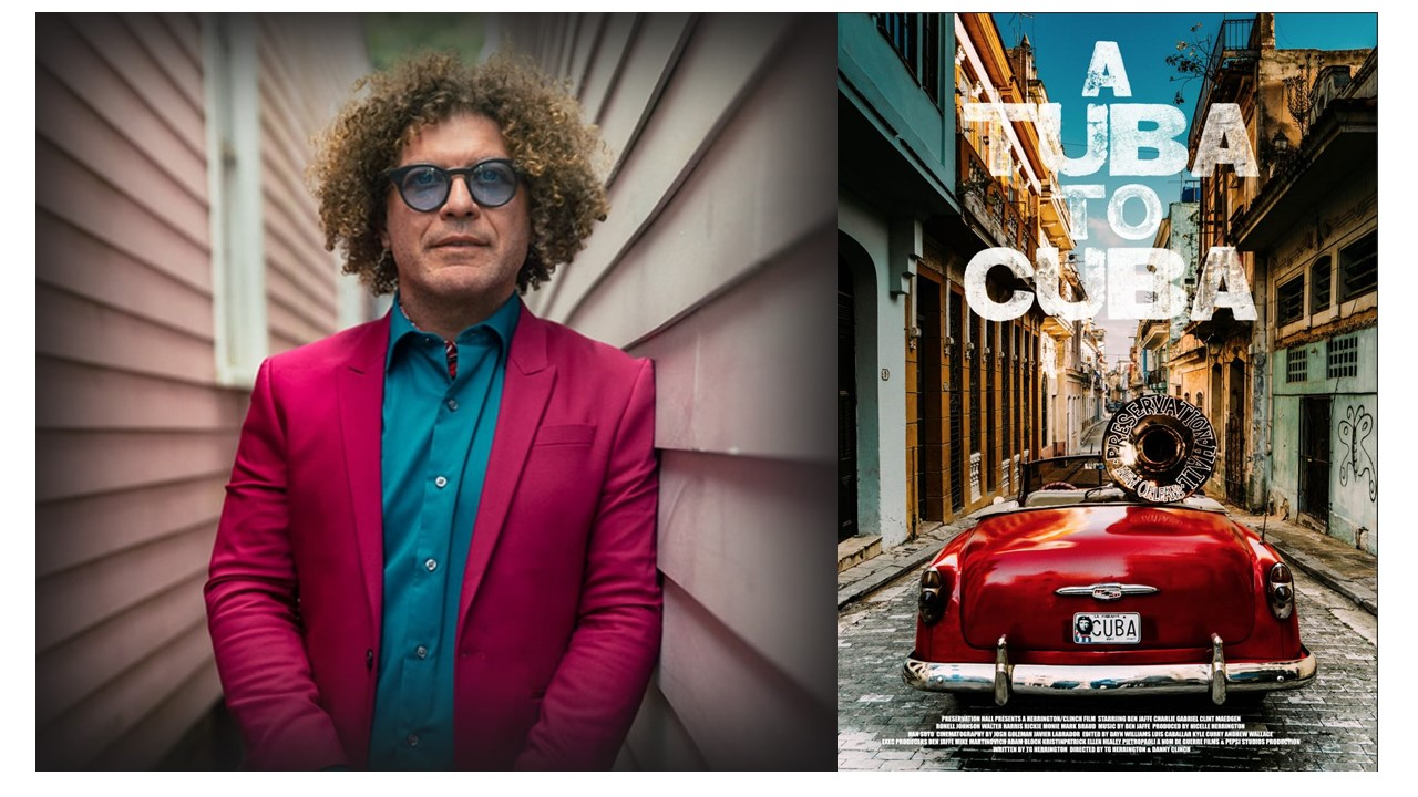 """VIRTUAL: Friends Friday Film Reel Talk: """"A Tuba to Cuba"""" with Special Guest Musician Ben Jaffe"""