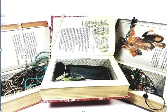 Diy Secret Book Safe