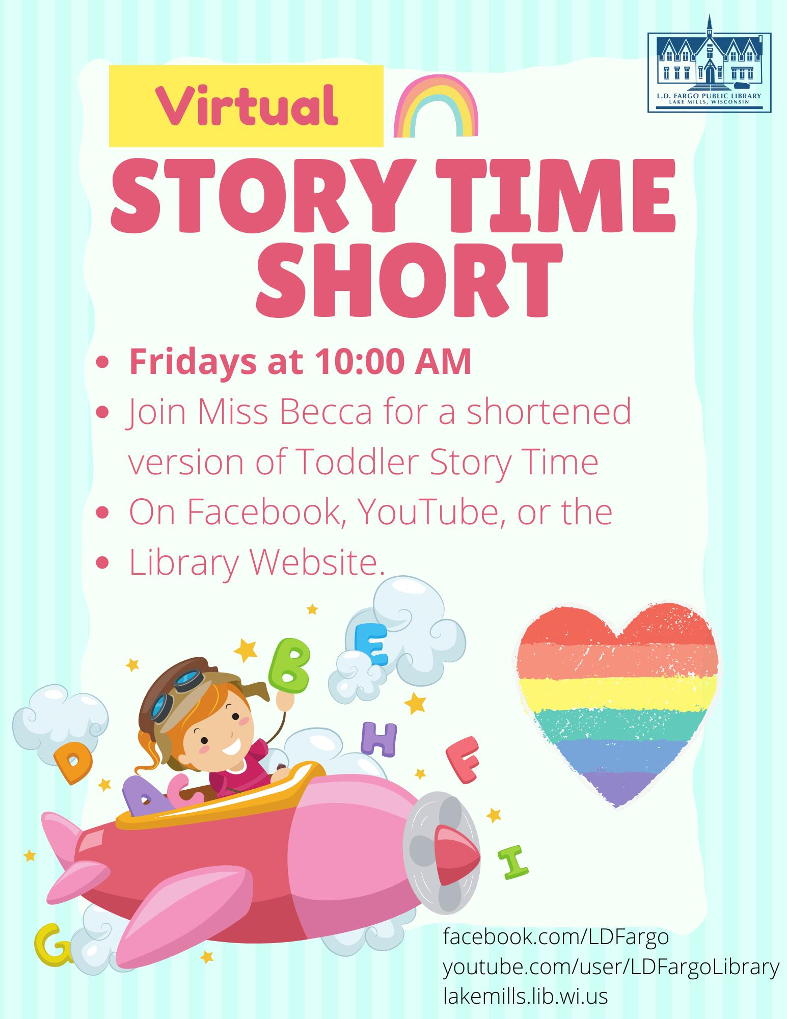 Virtural Story TIme Short