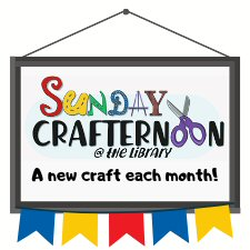 Sunday Crafternoon @ the Library