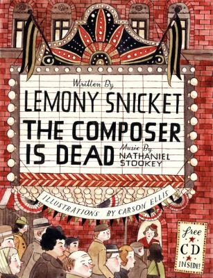The Composer Is Dead book cover image