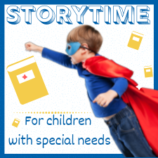 Storytime for children with special needs