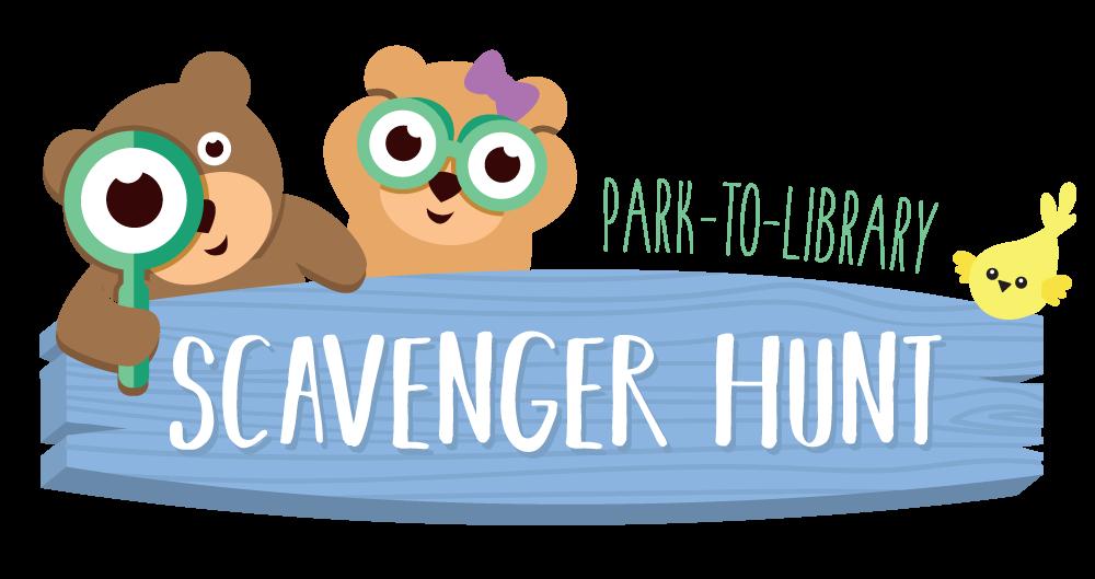 Park-to-Library Scavenger Hunt logo