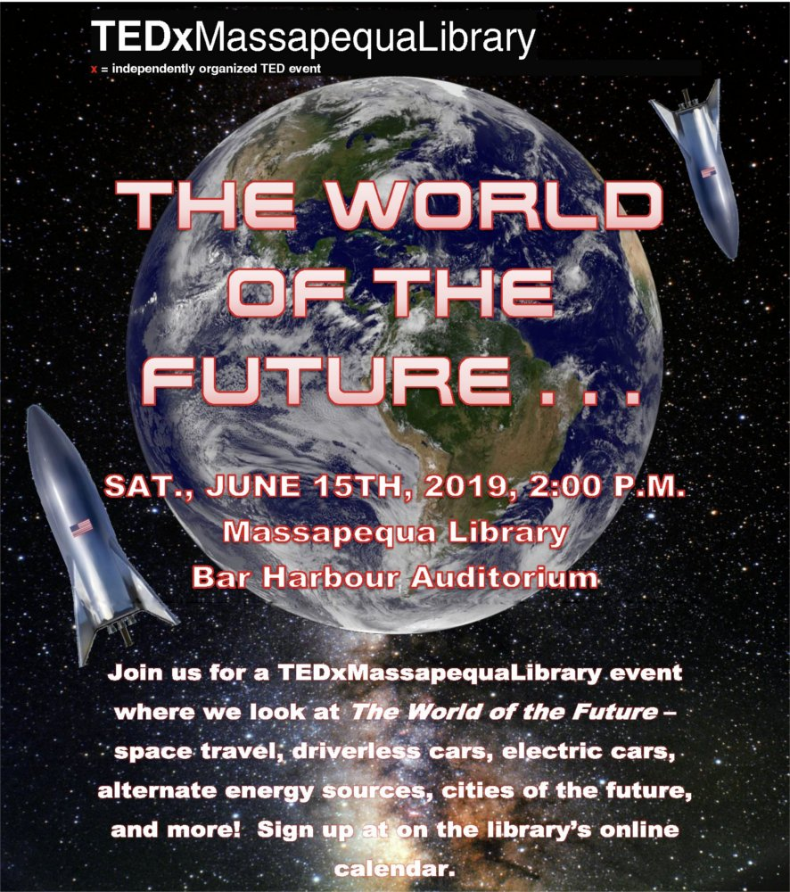 TedX Event - The World of the Future