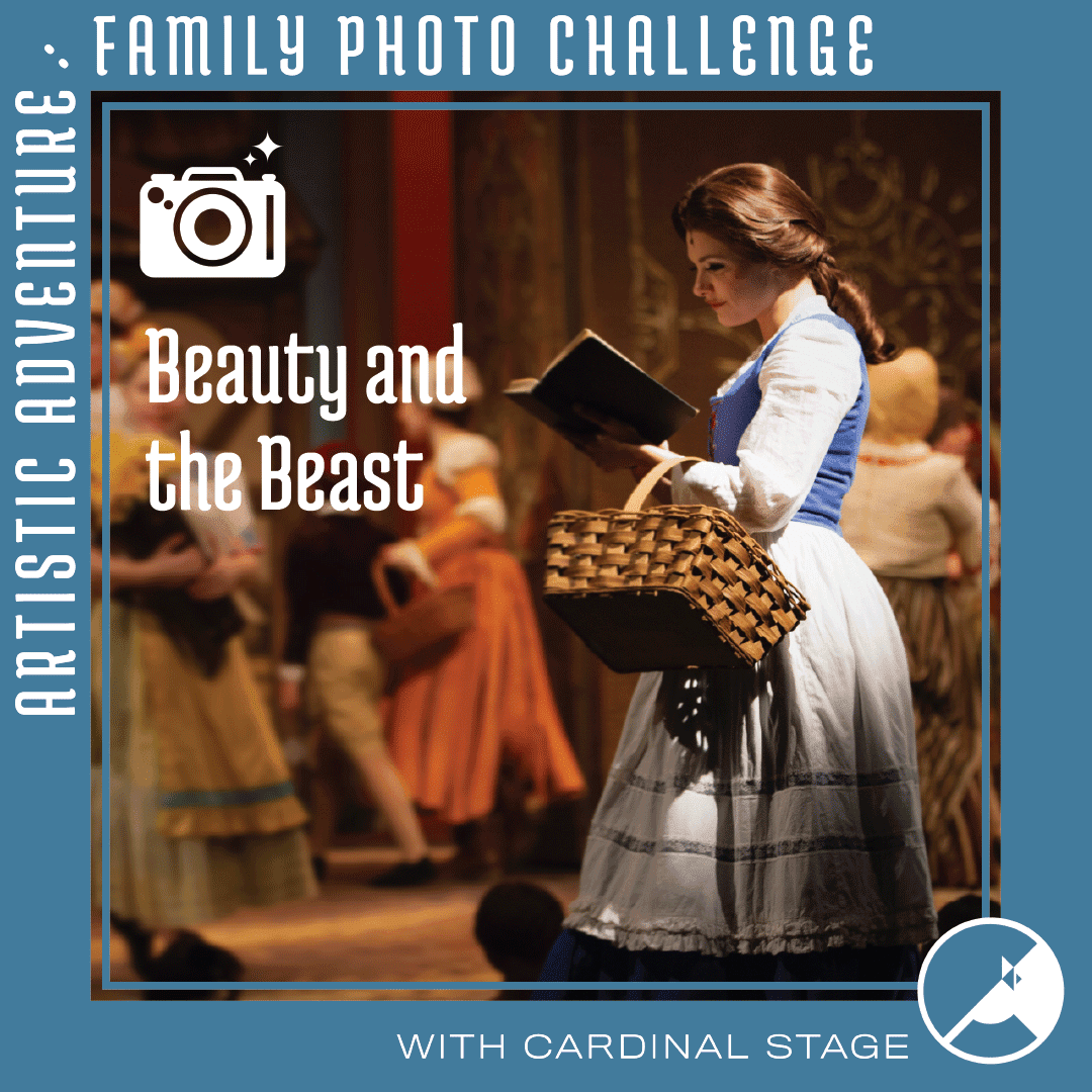 Beauty and the Beast photo challenge Cardinal Stage