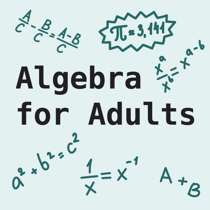 Algebra for Adults