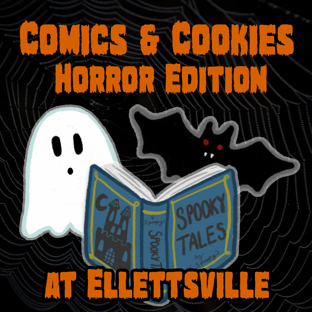 Comics and Cookies: Horror Edition at Ellettsville