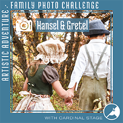 Cardinal Stage Family Photo Challenge Hansel & Gretel