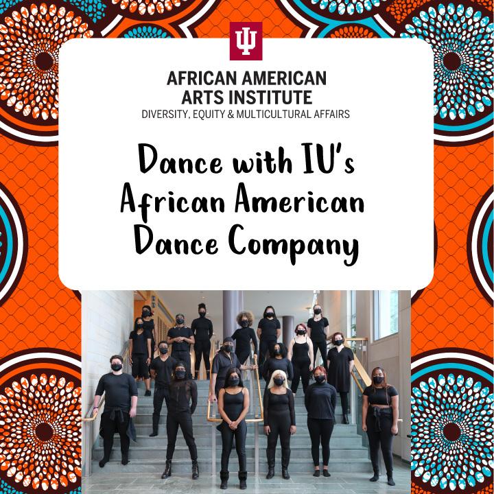 Dance with IU's African American Dance Company