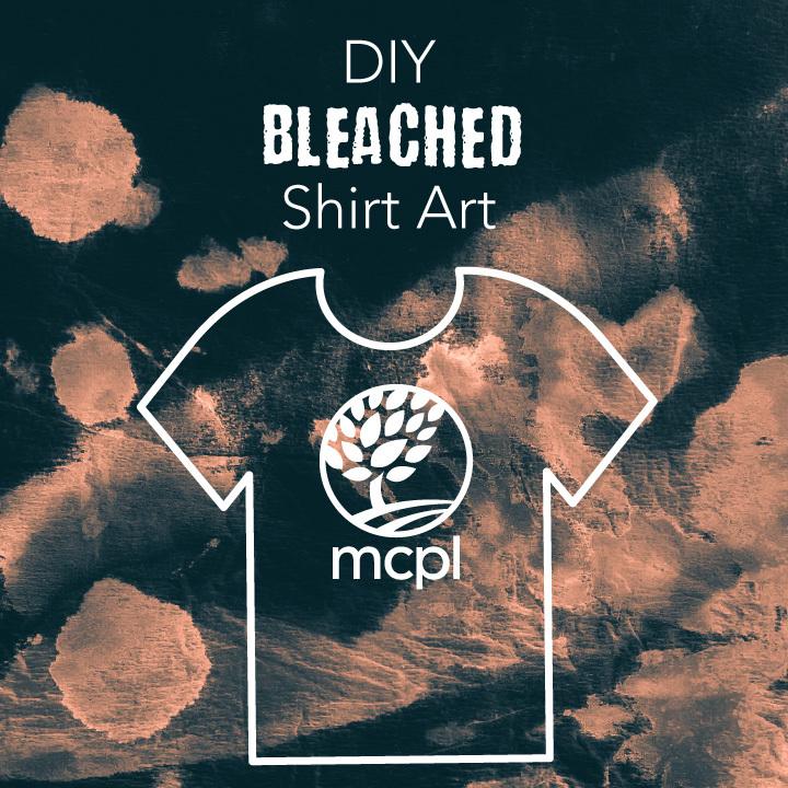 DIY Bleached Shirt Art