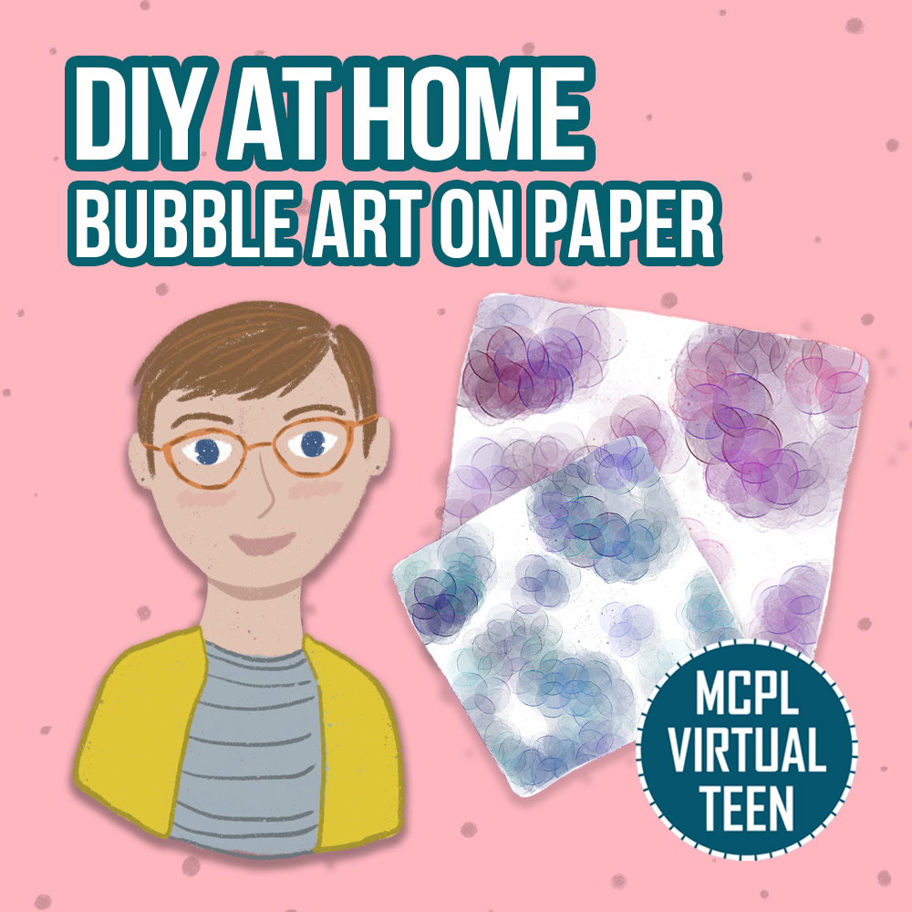 DIY at Home: Bubble Art On Paper