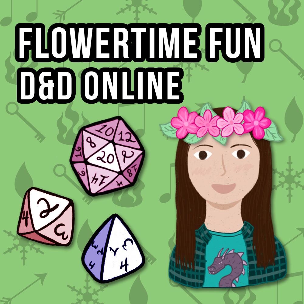 Flowertime Fun D&D Online