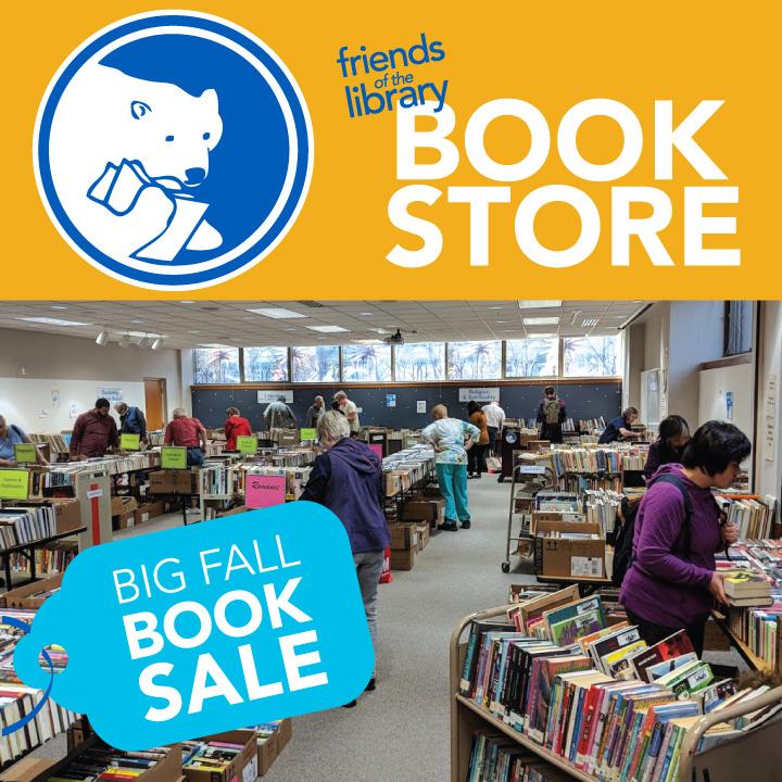 Friends Big Fall Book Sale