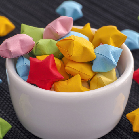 Lucky Origami Stars