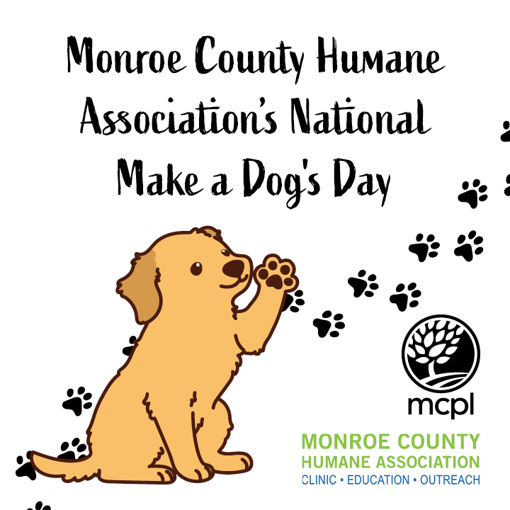 Monroe County Humane Association's National Make a Dog's Day