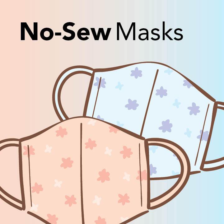 No-Sew Masks