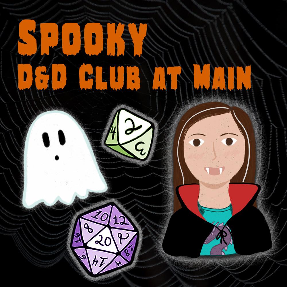 Spooky D&D Club at Main