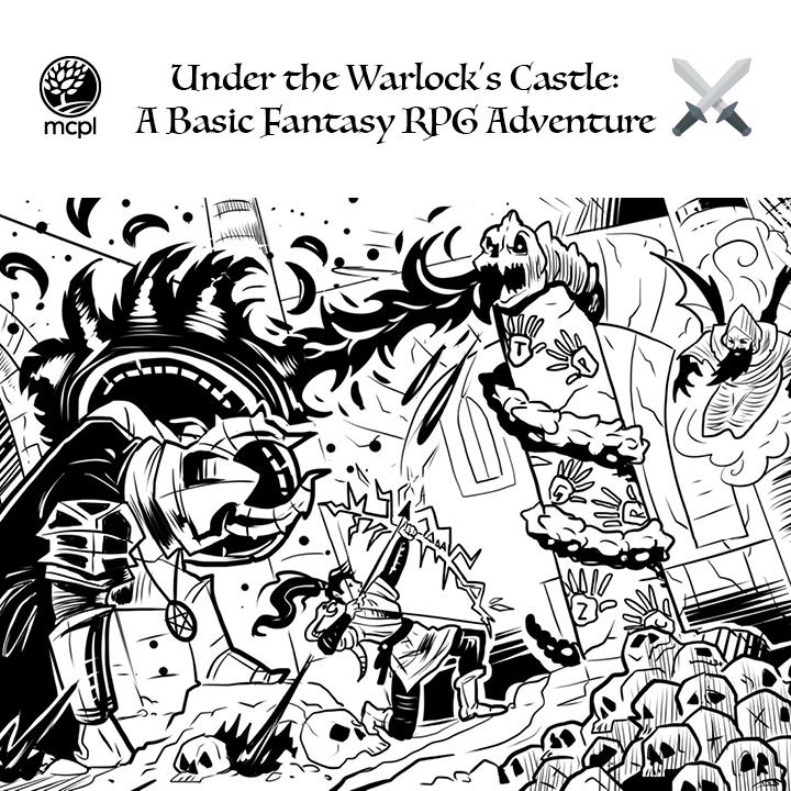 Under the Warlock's Castle: A Basic Fantasy RPG Adventure