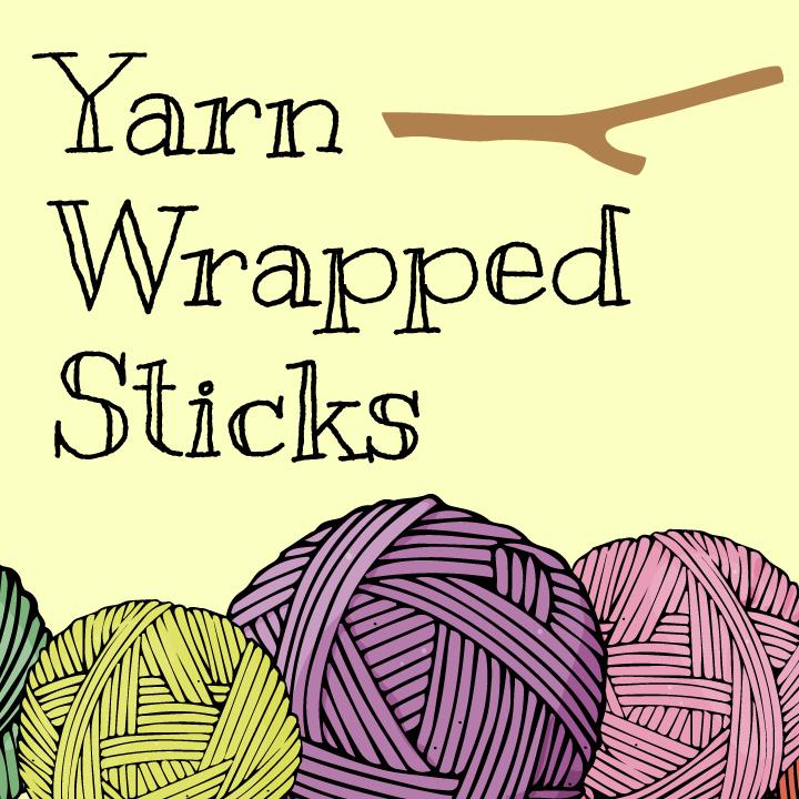 Yarn-Wrapped Sticks