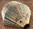 Picture of Hedgehog made from folded book