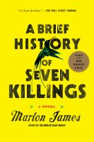 "Cover of ""A Brief History of Seven Killings"" by Marlon James"