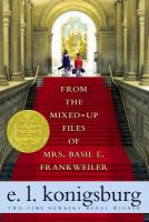 "Book cover of the book ""From the Mixed up Files of Mrs. Basil E. Frankweiler"" by E. L. Konigsburg"
