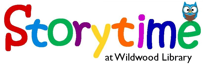 Storytime at Wildwood Library Logo