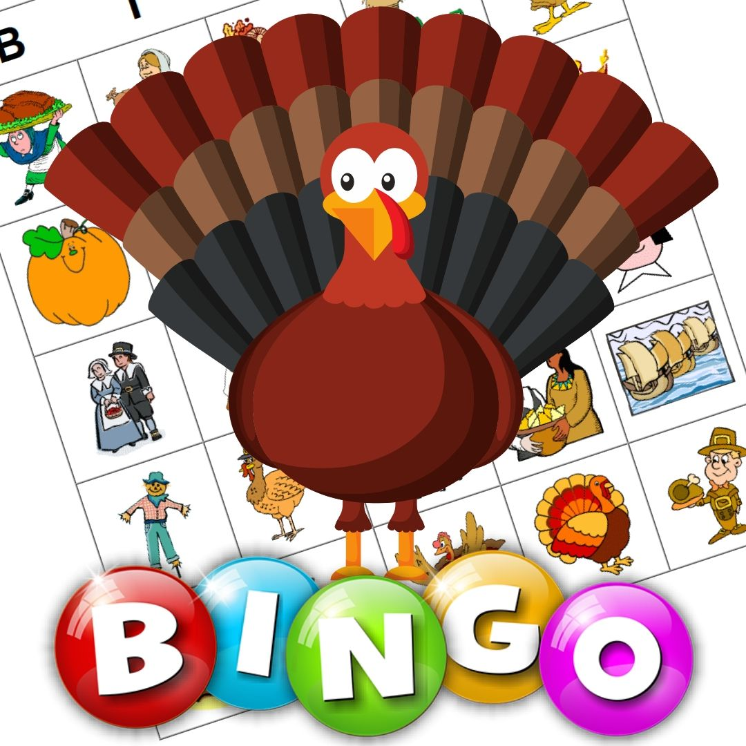Image result for turkey bingo