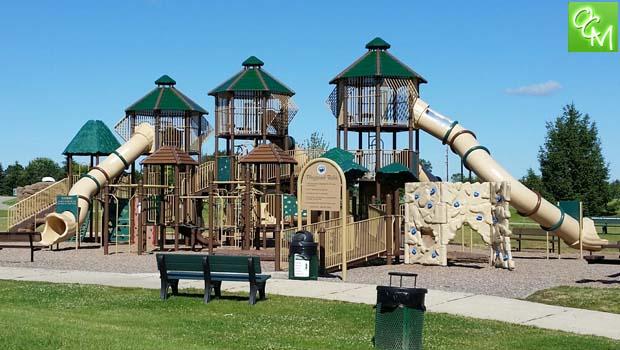 Friendship park playscape
