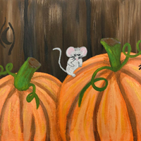 Pumpkin Picture Painting