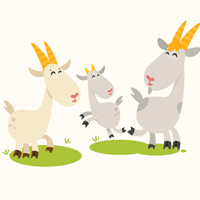 Toddler Time Goats
