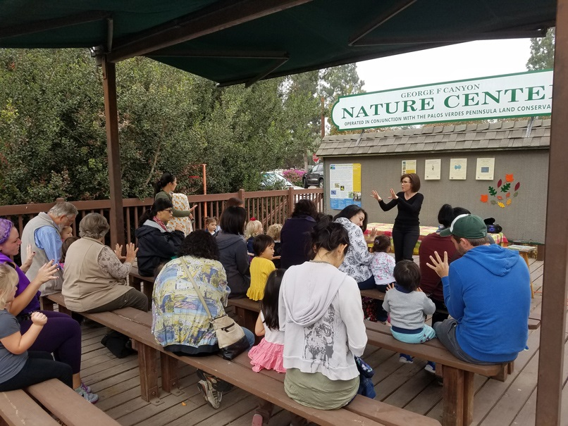 2017 storytimes Nature & Me PVPLC George F Canyon Nature Center