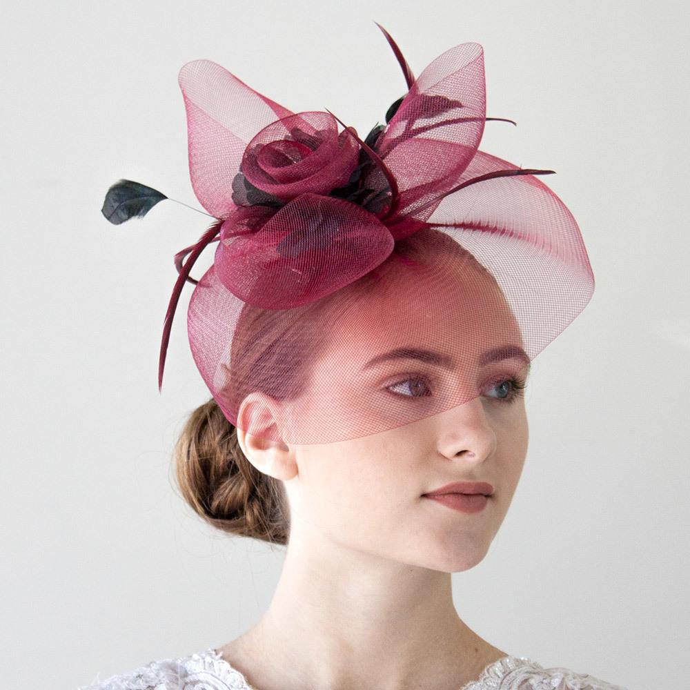 Amazon.co.uk  wedding hats  Clothing 57a6c52a350