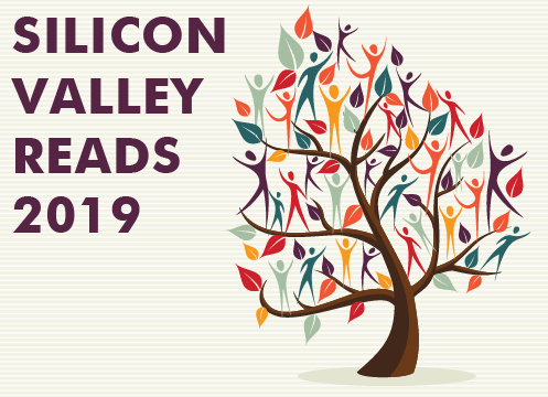 Silicon Valley Reads 2019 logo of tree