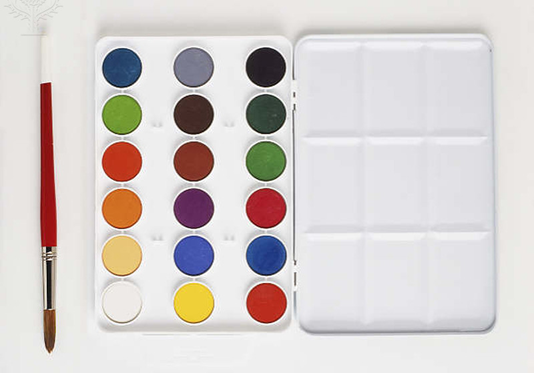 watercolour palette box