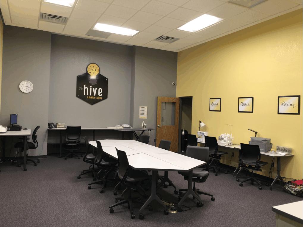 The Hive: Main room (Minimum 4 Certified Makers - Maximum 10 Certified Makers) image