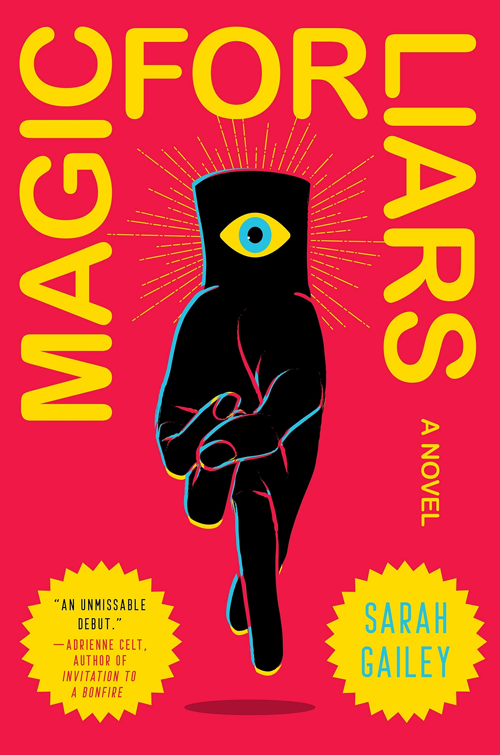Magic For Liars Book Cover