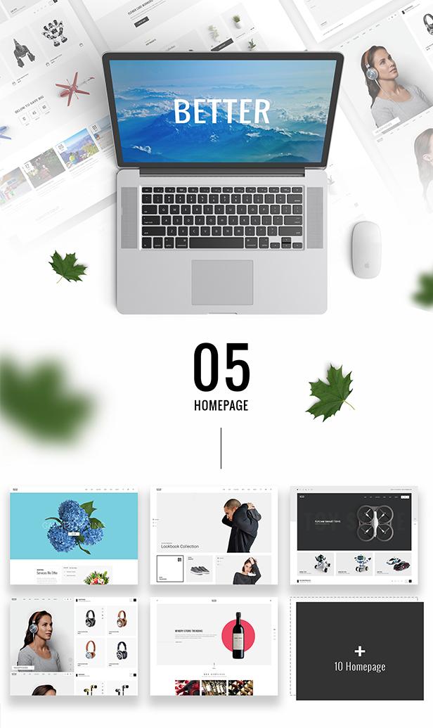 Better - Responsive WordPress Theme for WooCommerce