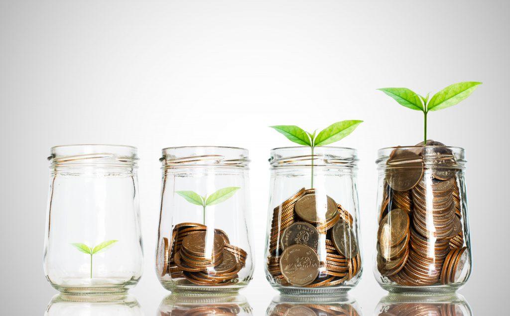 imagem que mostra que a disciplina financeira acumula ganhos
