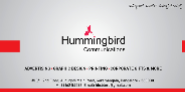 Business Development Executive Jobs in Bangalore - Humming Bird Communications