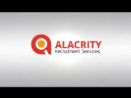 Alacrity recruitment services