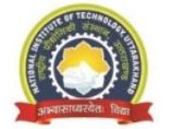 Project Lecturer/Counsellor Jobs in Dehradun - NIT Uttarakhand