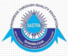 JRF Mech Jobs in Thanjavur - Sastra University