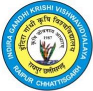 JRF Agriculture Jobs in Raipur - Indira Gandhi Krishi Vishwavidyalaya