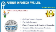 Customer Support Engineer Jobs in Across India - Puthur Infotech Pvt Ltd