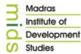 Junior Assistant Jobs in Chennai - Madras Institute of Development Studies